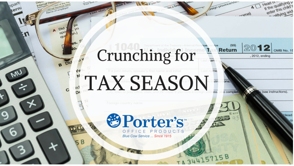 1-Crunching for Tax Season via Porters Office Products