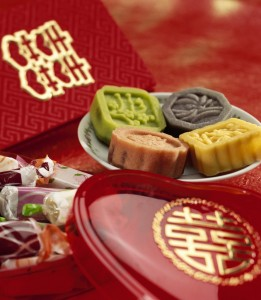 Variety of Sweets for Chinese Wedding