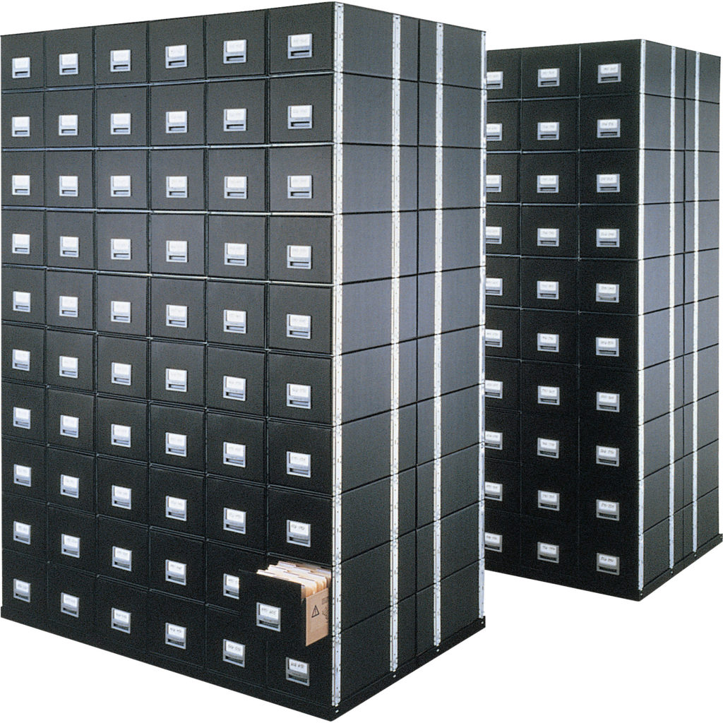 StaxonSteel storage files